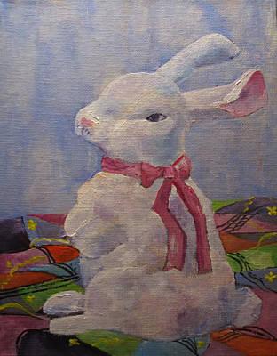Painting - Some Bunny by Kathleen Harrington