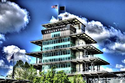Indy Car Photograph - Some Cloudy Day by Josh Williams