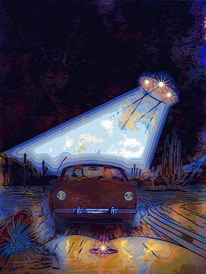 Painting - Some Enchanted Evening-retro Romance by Anastasia Savage Ealy