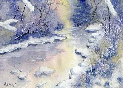 Winter Mornings Painting - Some Frosty Morning by Marsha Elliott