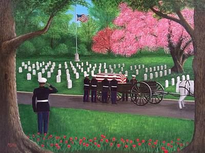 Some Gave All Original by Marlene Little