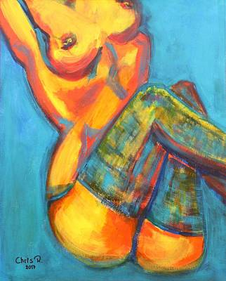 Painting - Some Like It Hot by Christel Roelandt