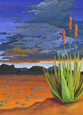 Aloe Painting - Some Like It Hot by Karyn Robinson