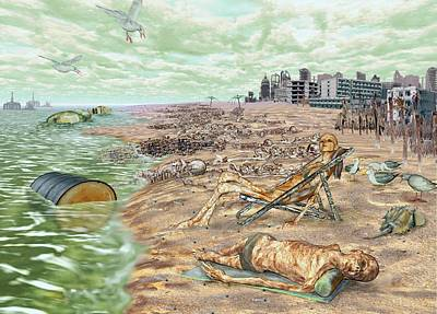 Digital Art - Some Of A Beach by Jamison Smith