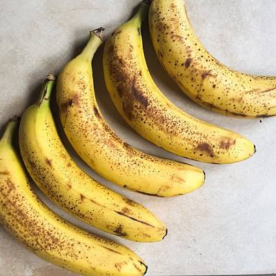 Banana Photograph - Some Of My Bananas Are Finally Ripe by Joe Morley