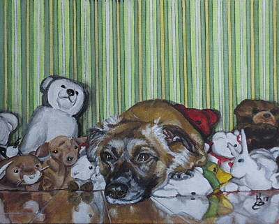 Painting - Some Of My Favorite Things by Kim Selig