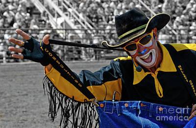 Bull Fighter Photograph - I Like My Job by Bob Christopher