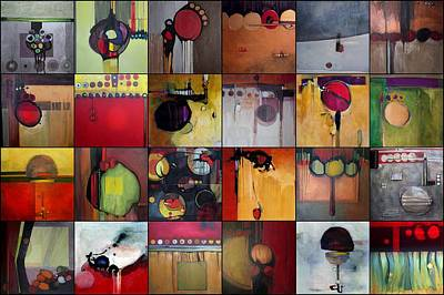 Painting - Some Sold Circles by Marlene Burns
