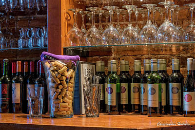 Photograph - Some Wine by Christopher Holmes