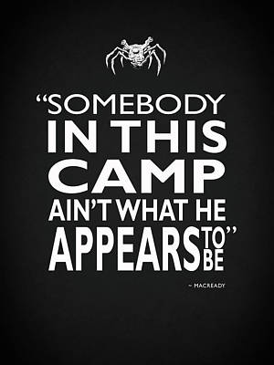 Photograph - Somebody In This Camp by Mark Rogan