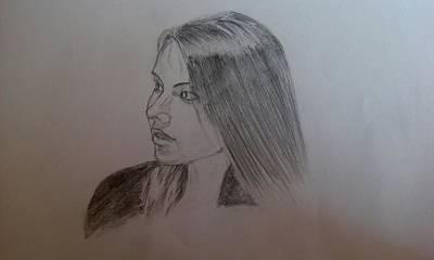 Master Piece Drawing - Someone by Gyanaranjan Biswal