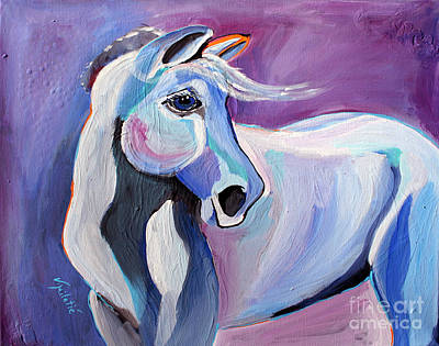 Stable Painting - Someone Is Gonna Love Me - Horse Art By Valentina Miletic by Valentina Miletic
