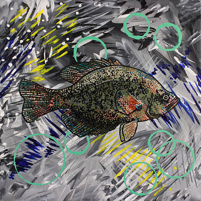 Painting - Someone Please Give This Fish A New Name by Julianne Hunter