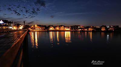 Photograph - Somers Point Bayfront by John Loreaux
