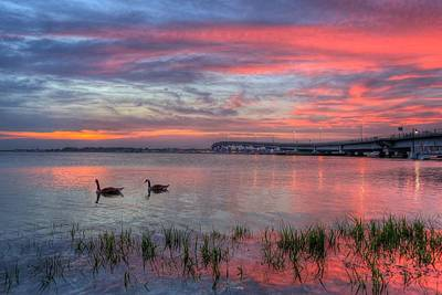 Photograph - Somers Point Sky by John Loreaux