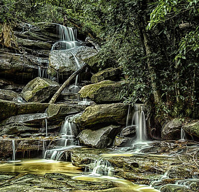 Photograph - Somersby Falls by Chris Cousins