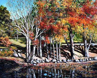 Painting - Somesville, Autumn by Eileen Patten Oliver