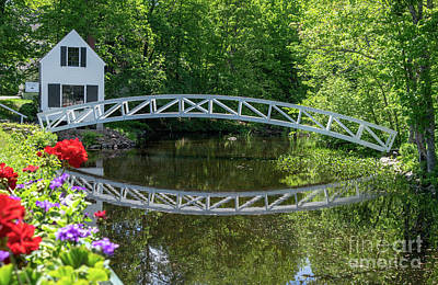 Photograph - Somesville Bridge by Cathy Donohoue
