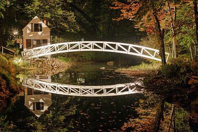 Photograph - Somesville Bridge by Gary Lengyel