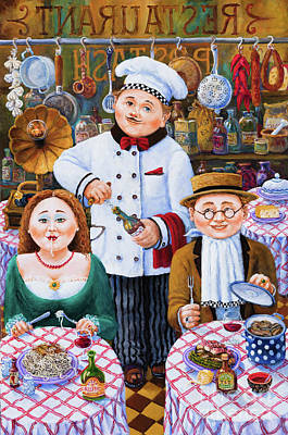 Painting - Something About Food 2 by Igor Postash
