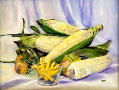 Painting - Something Corny by Dr Pat Gehr