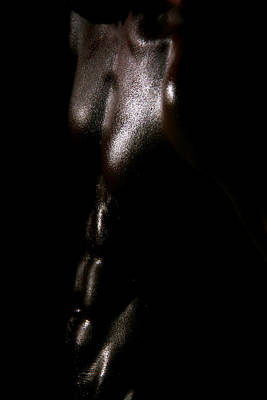 Nudity Photograph - Something Dark  by Mark Ashkenazi