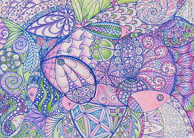 Something Fishy Art Print by Aimee Mouw