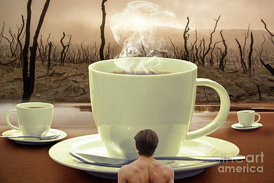 Food And Beverage Digital Art - Something Hot  by Prar Kulasekara