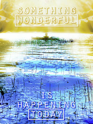 Photograph - Something Wonderful by Hal Halli