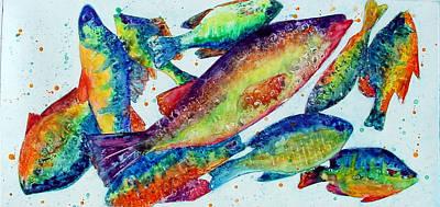 Something's Fishy Art Print