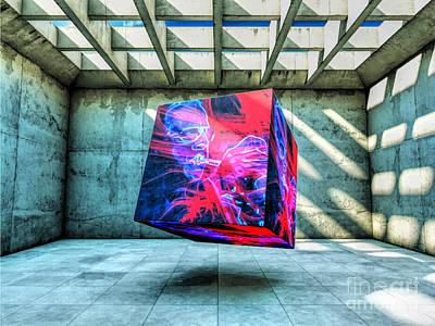 Digital Art - Sometimes I Feel Like This by Richard Jones