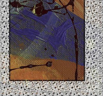Digital Art - Sometimes Blue by Angela L Walker