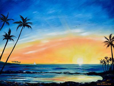 Painting - Sometimes I Wonder by Gina De Gorna