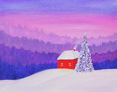 Painting - Sometimes In Winter by Iryna Goodall