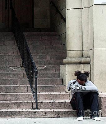 Mental Health Art Photograph - Sometimes Just Pray by Joe Jake Pratt