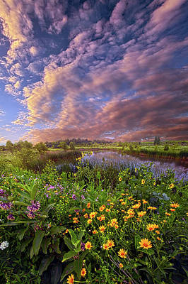 Photograph - Sometimes We Are In Doubt But Never In Despair by Phil Koch