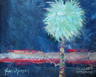 Painting - Somewhat Preppy Horizons by Kristen Abrahamson