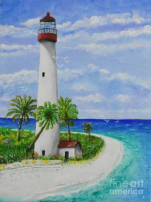 Painting - Somewhere Beautiful by Melvin Turner