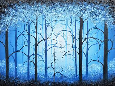 Fantasy Tree Art Painting - Somewhere Ever After by Rachel Bingaman