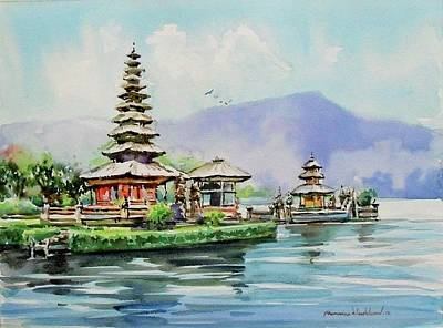 Painting - Somewhere In Bali by Wanvisa Klawklean