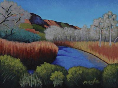 Painting - Somewhere In Jemez by Gayle Faucette Wisbon