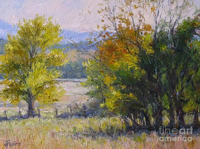 Somewhere In Oklahoma Art Print by Vickie Fears