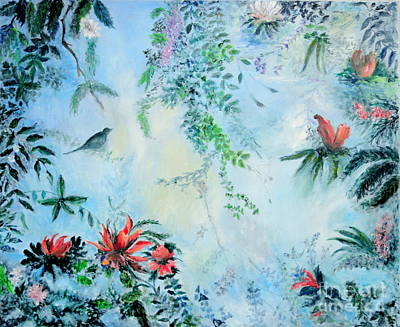 Painting - Somewhere In Paradise by Dagmar Helbig