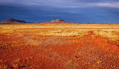 Somewhere In The Outback, Central Australia Art Print