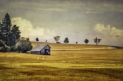 Harvesting Digital Art - Somewhere In The Palouse by Eduard Moldoveanu