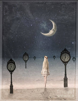 Somewhere In Time Art Print by Juli Scalzi