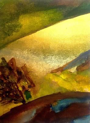 Inner World Painting - Somewhere  by Madina Kanunova