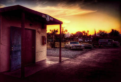 Photograph - Somewhere On Route 66 by Pascal Claivaz