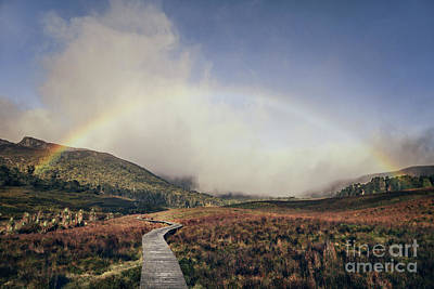 Photograph - Somewhere Over The Rainbow by Evelina Kremsdorf