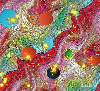 Digital Art - Somewhere Over The Rainbow by Iris Gelbart